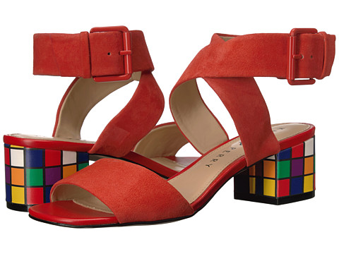 Katy Perry The Margot - Cherry Red Suede