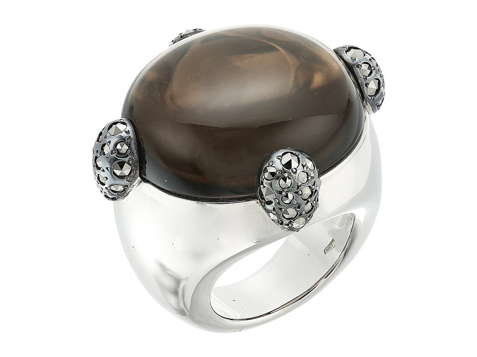 Pomellato 67 - A.B226OMAA/QI Griffes Ring (Silver/Quartz/Marcasites) Ring