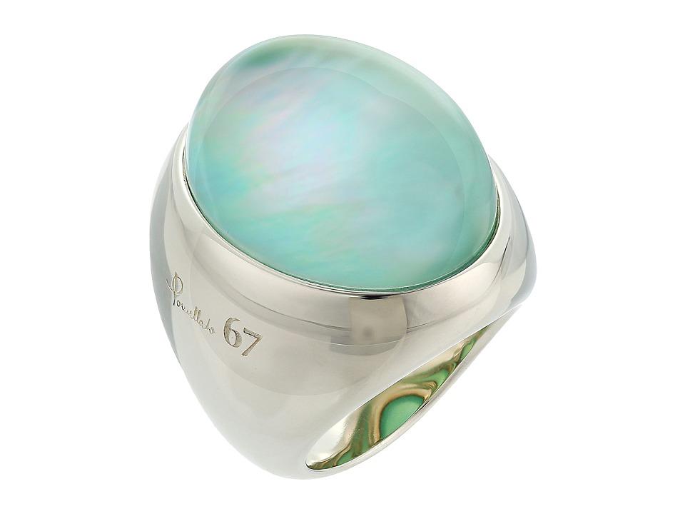 Pomellato 67 - A.B225/A/QI Milano Chevaliere Ring (Silver...
