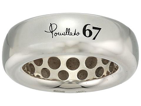 Pomellato 67 Gourmette Fedona Small Ring - Silver
