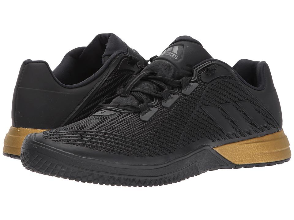 adidas CrazyPower TR (Core Black/Utility Black/Tactile Gold Metallic) Men