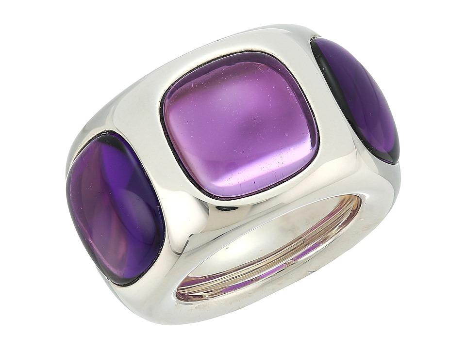 Pomellato 67 - A.B317Q/A/AI Bisanzio Ring (Silver/Amethys...