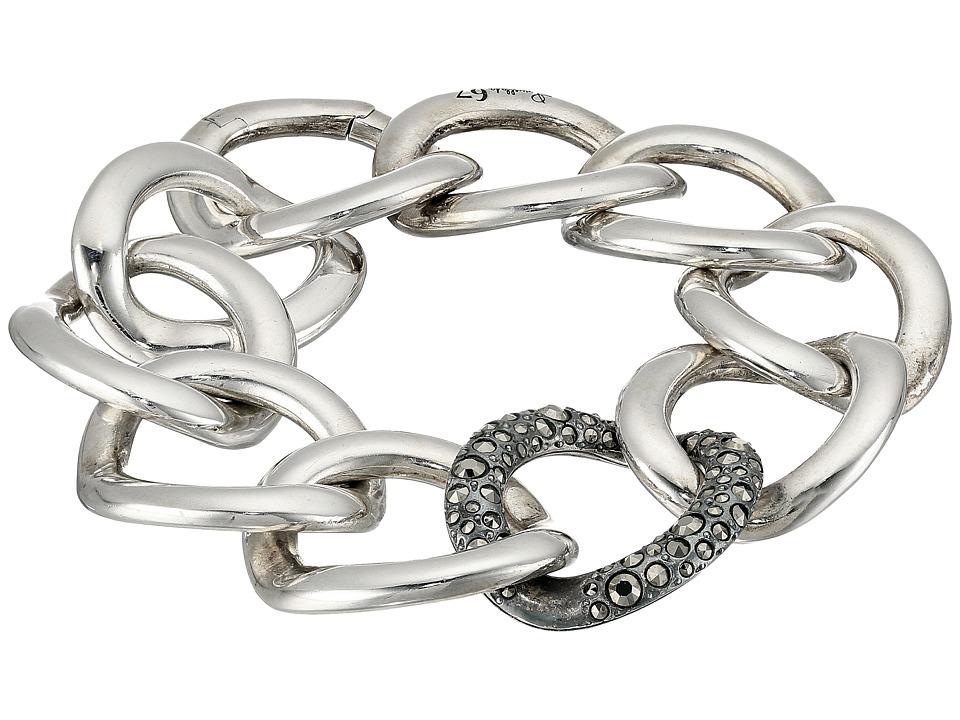 Pomellato 67 - Gourmette 20cm Bracelet (Silver/Marcasite)...