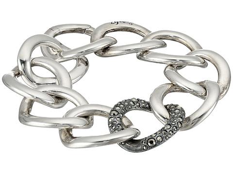 Pomellato 67 Gourmette 20cm Bracelet - Silver/Marcasite