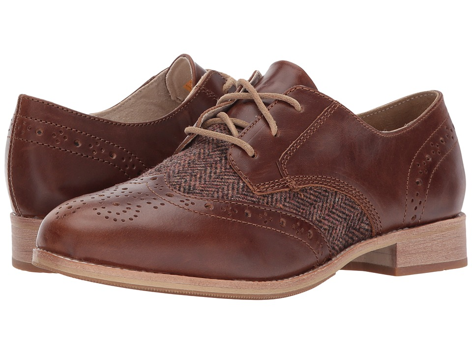 1950s Style Shoes Caterpillar Casual - Reegan II Brown Womens Lace up casual Shoes $140.00 AT vintagedancer.com