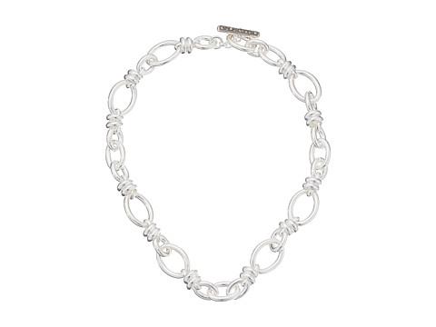 Pomellato 67 Rondelle Chain Necklace 52cm - Silver/Marcasite