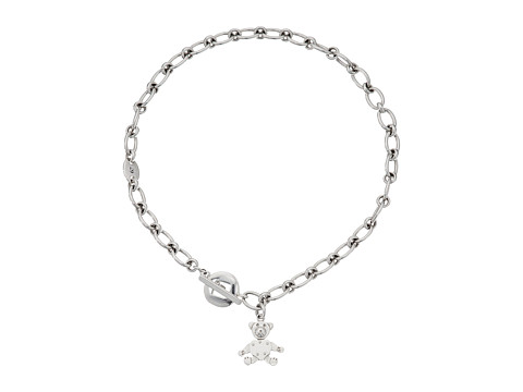 Pomellato 67 Teddy Bear T-Bar Necklace 44cm - Silver