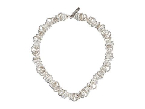 Pomellato 67 C.B219TMA/A/43 Rondelle Chain Necklace 43cm - Silver/Marcasite