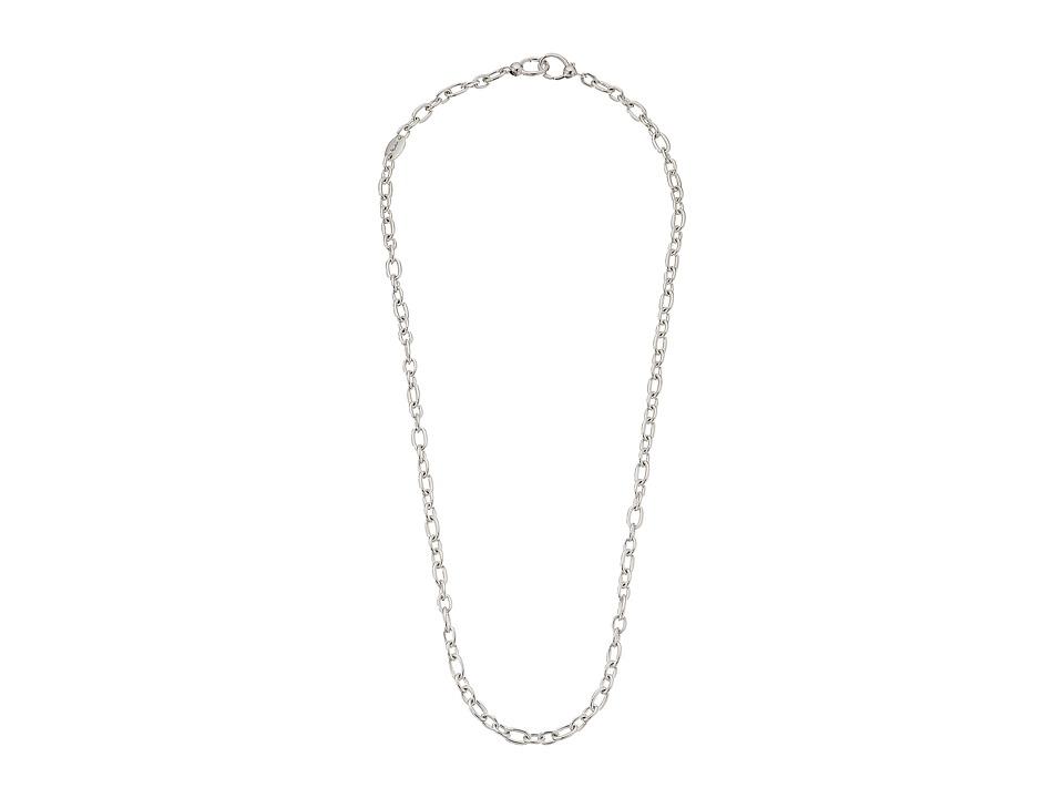 Pomellato 67 - 74cm Double Clip Chain Necklace (Silver) N...