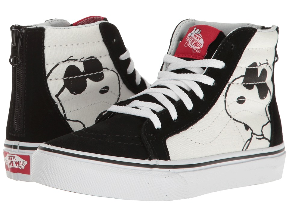 Vans Kids - Sk8-Hi Zip x Peanuts (Little Kid/Big Kid) ((P...