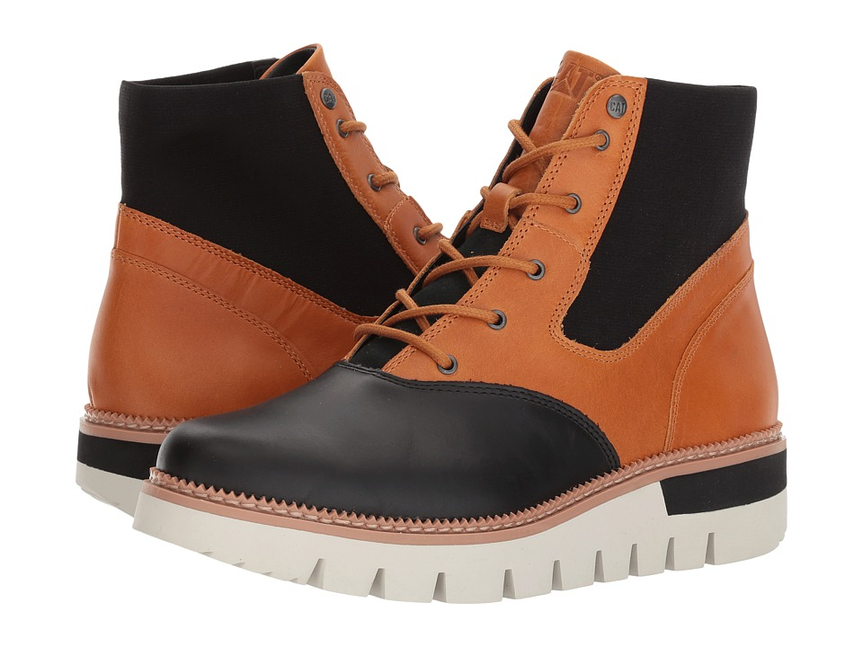 Caterpillar Casual Knockout (Black/Tan) Women