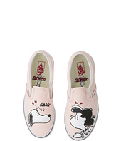Vans Kids - Classic Slip-On x Peanuts (Little Kid/Big Kid)