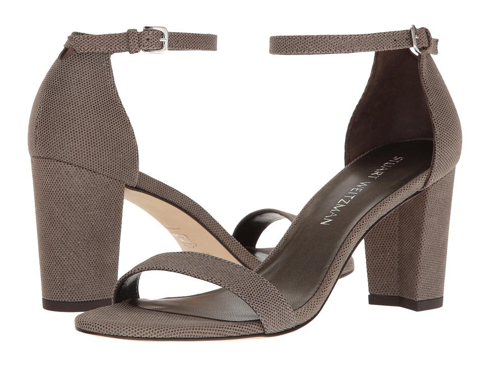 Stuart Weitzman Nearlynude (Fossil Bead Nappa) Women's Shoes