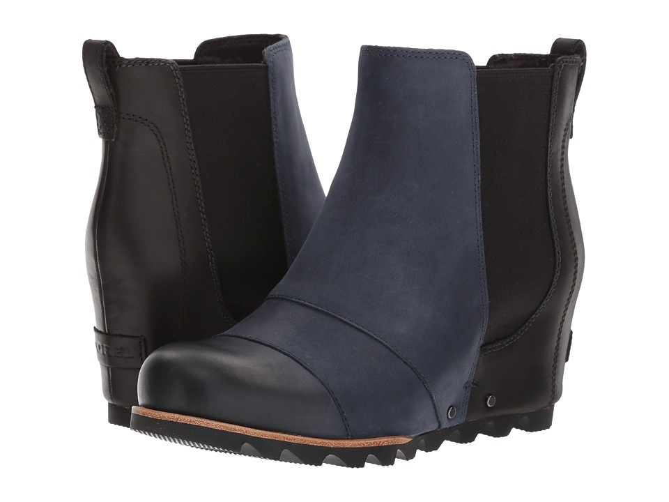 SOREL Lea Wedge (Collegiate Navy/Black) Women