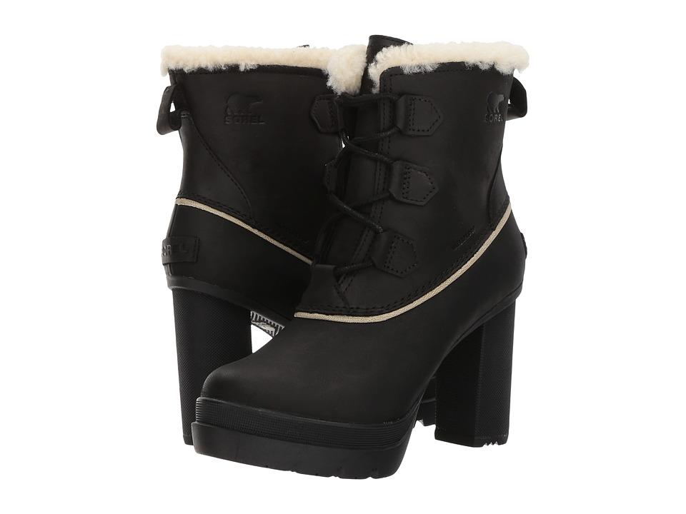 Sorel Dacie Lace (Black) Women's Waterproof Boots