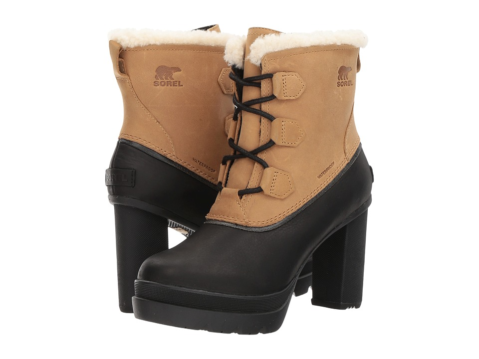 SOREL - Dacie Lace (Curry) Womens Waterproof Boots