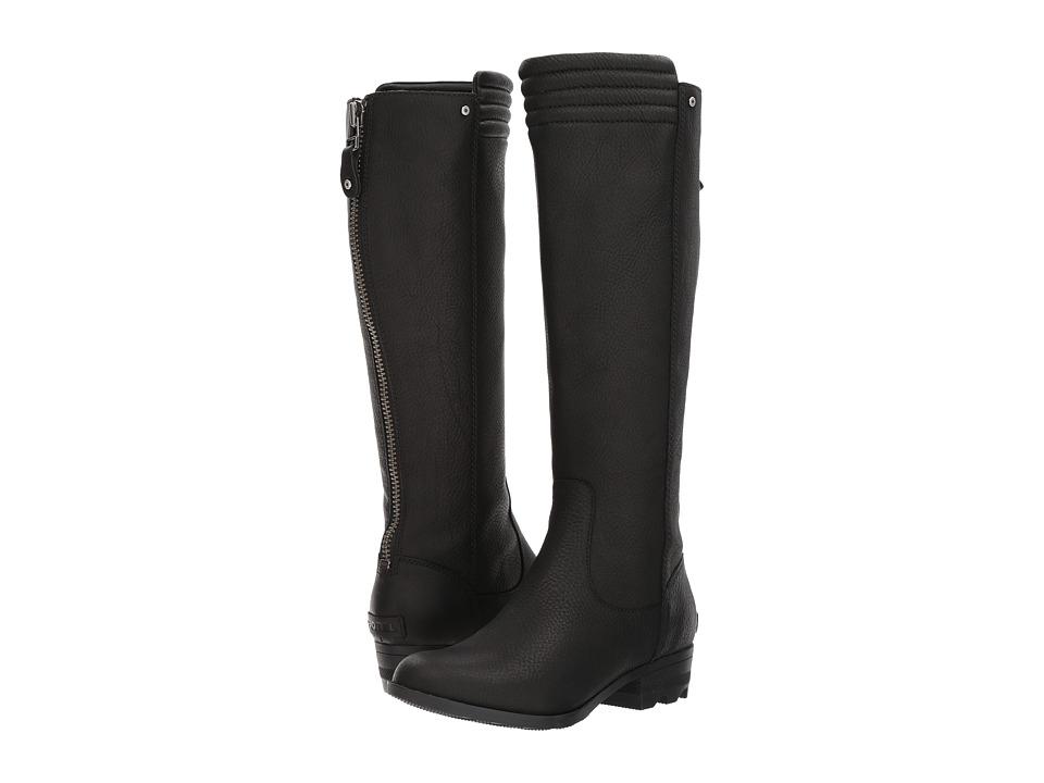 Sorel Danica Tall (Black) Women's Waterproof Boots