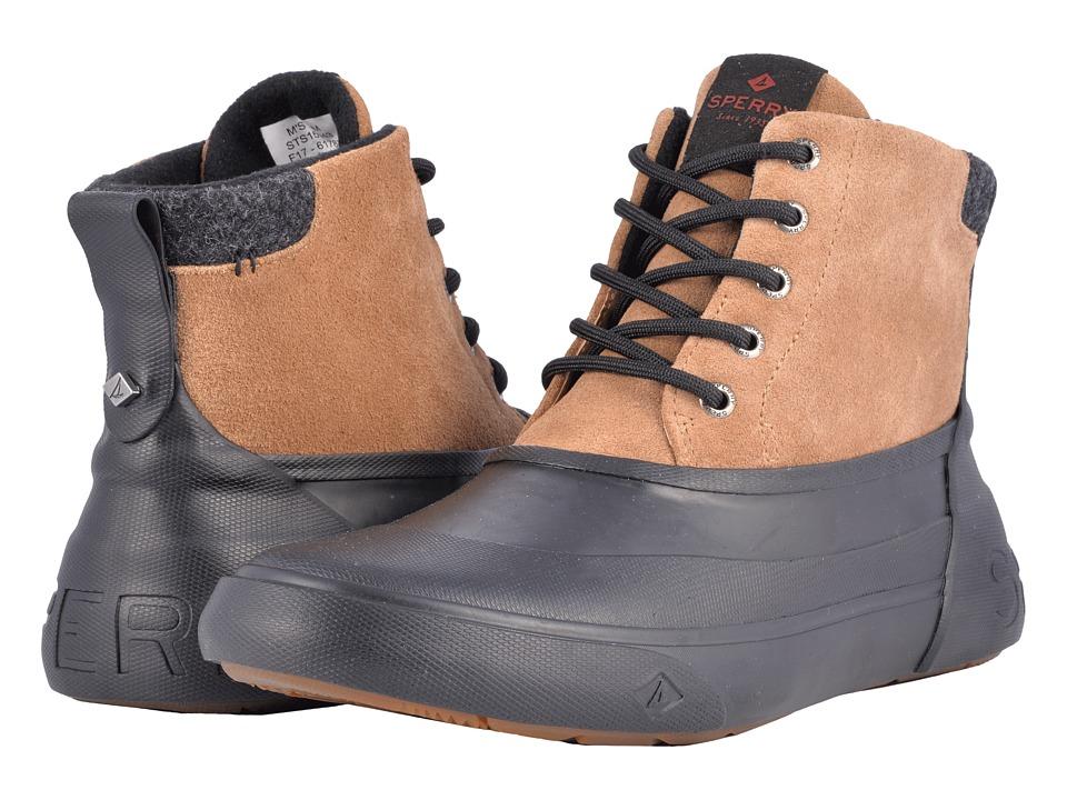 Sperry Cutwater Deck Boot (Noce/Black) Men