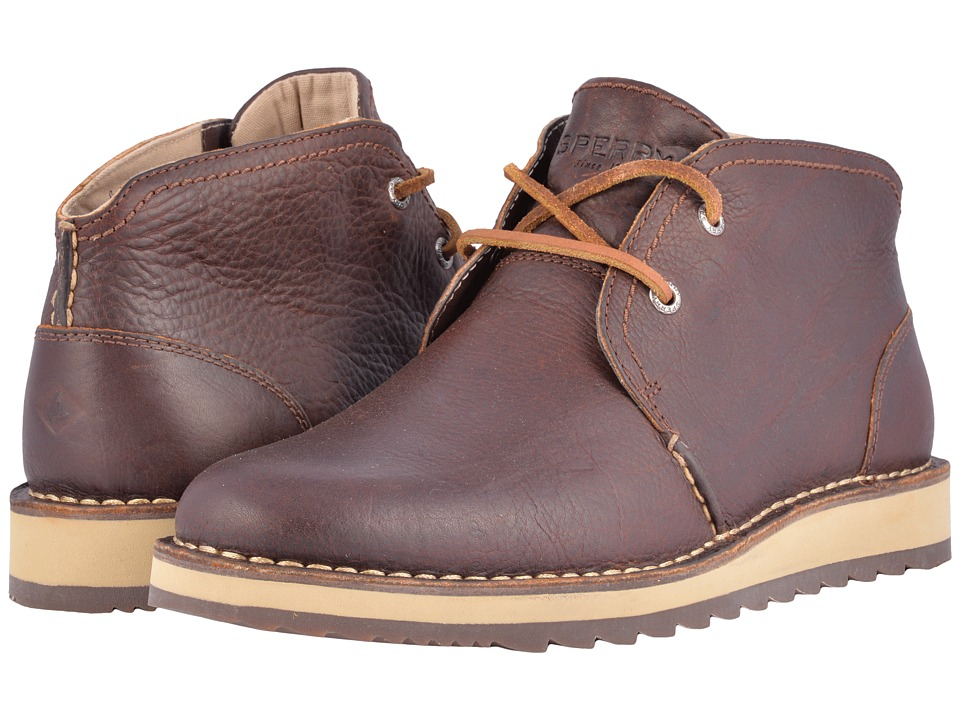 Sperry Top-Sider Dockyard Chukka (Brown 1) Men's Lace-up ...