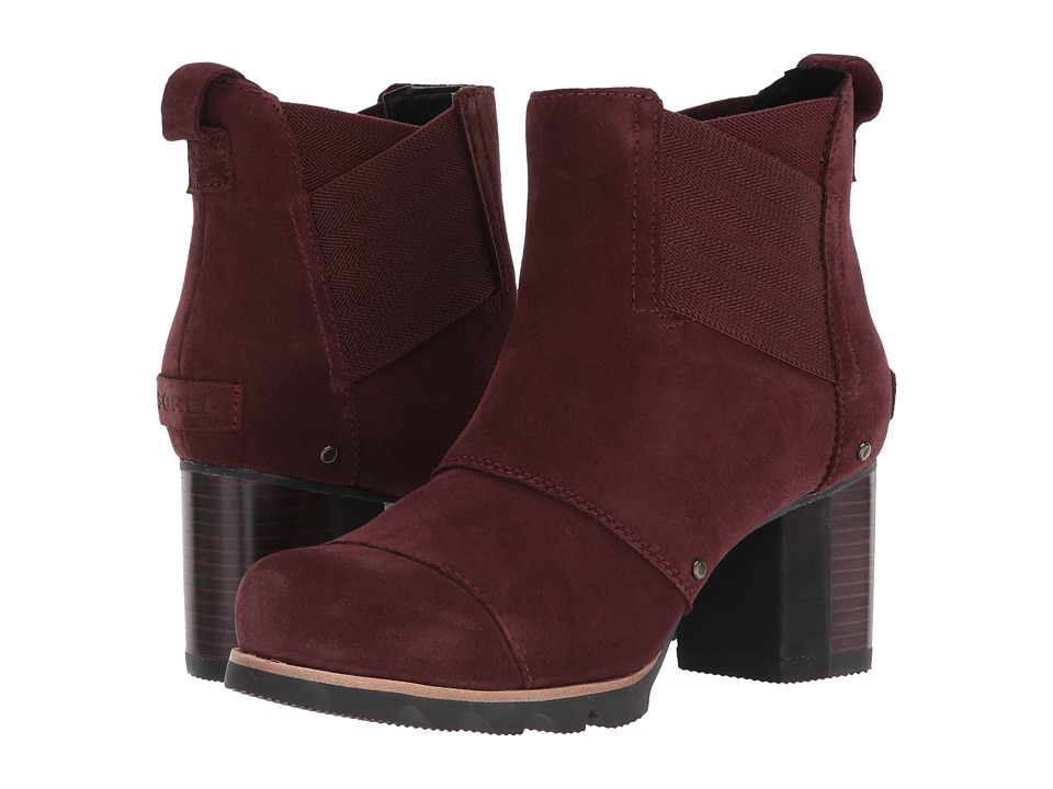 SOREL Addington Chelsea (Redwood/Black) Women's Dress Pull-on Boots