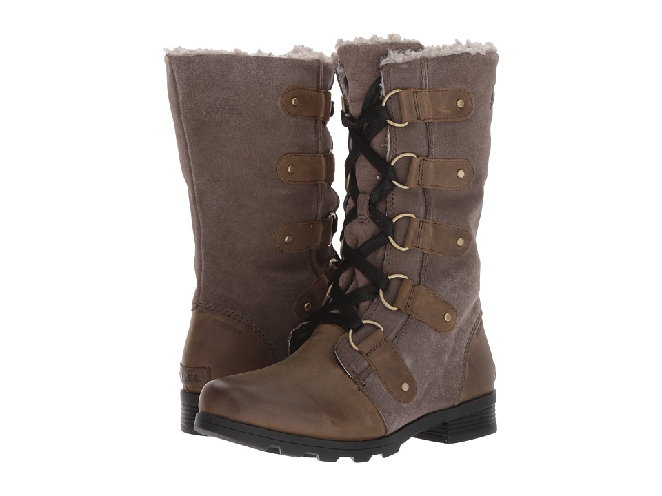 SOREL Emelie Lace (Major/Black) Women's Waterproof Boots