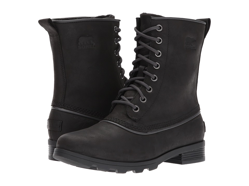 SOREL Emelie 1964 (Black) Women's Waterproof Boots