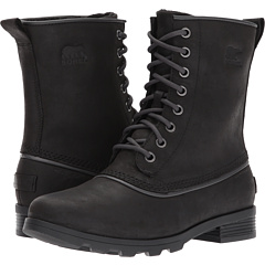 The Cheapest Cheap Online Fake Sale Online Emelie 1964 Black Waterproof Leather Boots - 010 black Sorel Discount Limited Edition 8U4QE7m