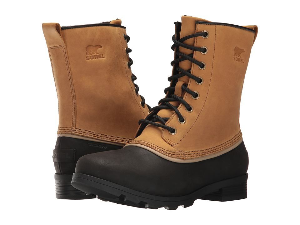 SOREL Emelie 1964 (Elk/Black) Women's Waterproof Boots