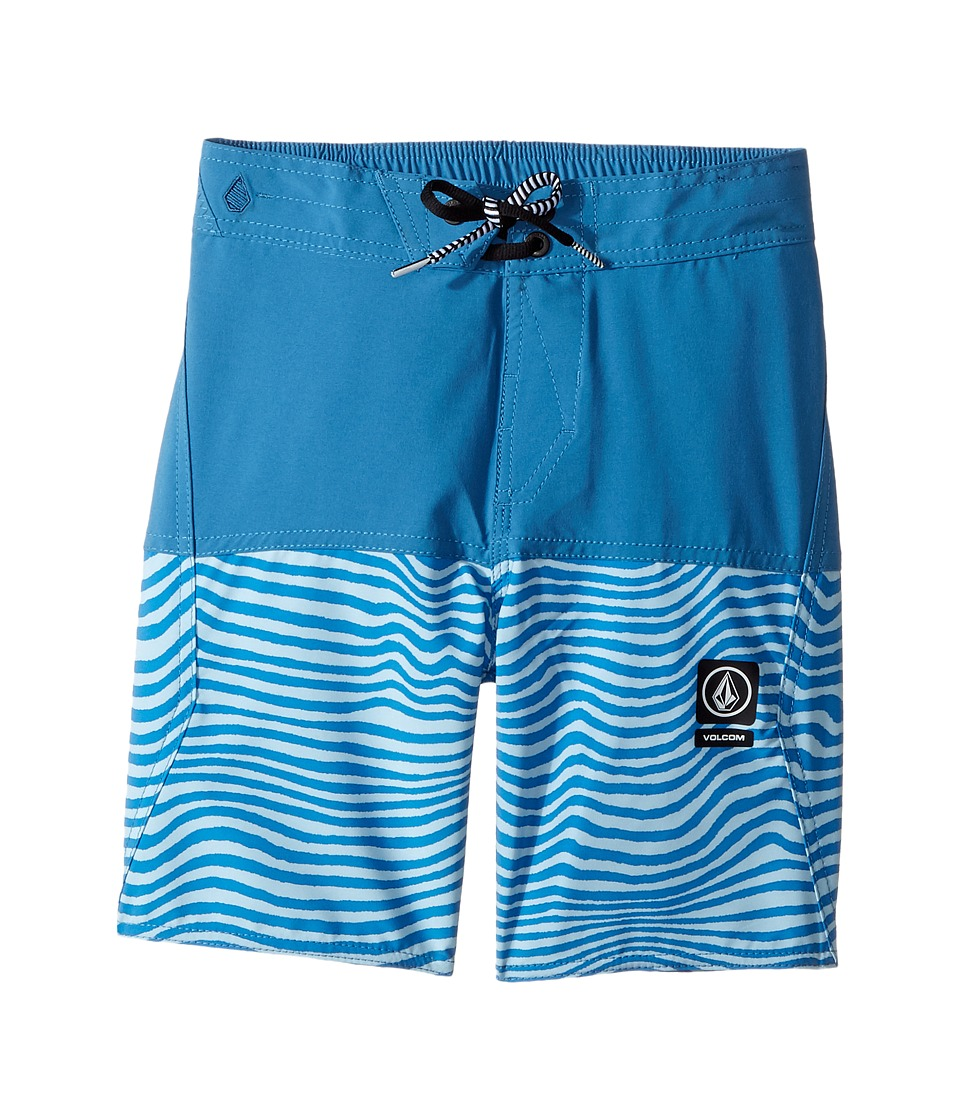 Volcom Kids Vibes Half Stoney Boardshort (Little Kids/Big Kids) (Mayan Blue) Boy
