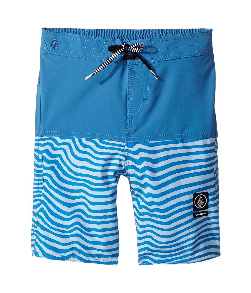 Volcom Kids Vibes Half Stoney Boardshort (Toddler/Little Kids) (Mayan Blue) Boy