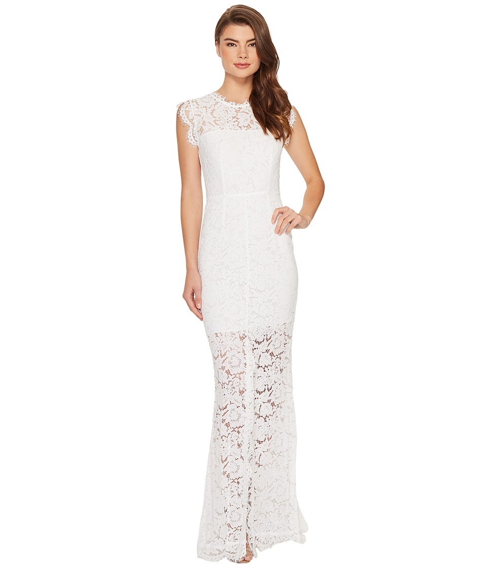 Rachel Zoe Estelle Cutout Maxi Dress (White) Women's Dress