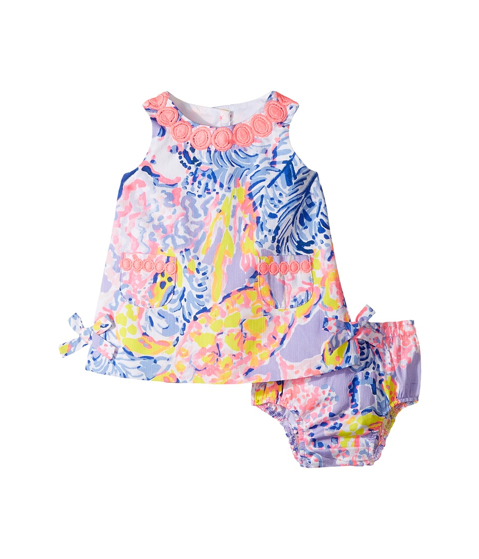 Lilly Pulitzer Kids Baby Lilly Shift (Infant) (Lilac Verben So Snappy) Girl