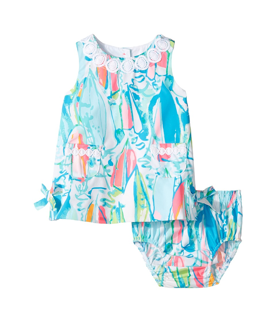 Lilly Pulitzer Kids Baby Lilly Shift (Infant) (Multi Beach and Bae Sunglow) Girl