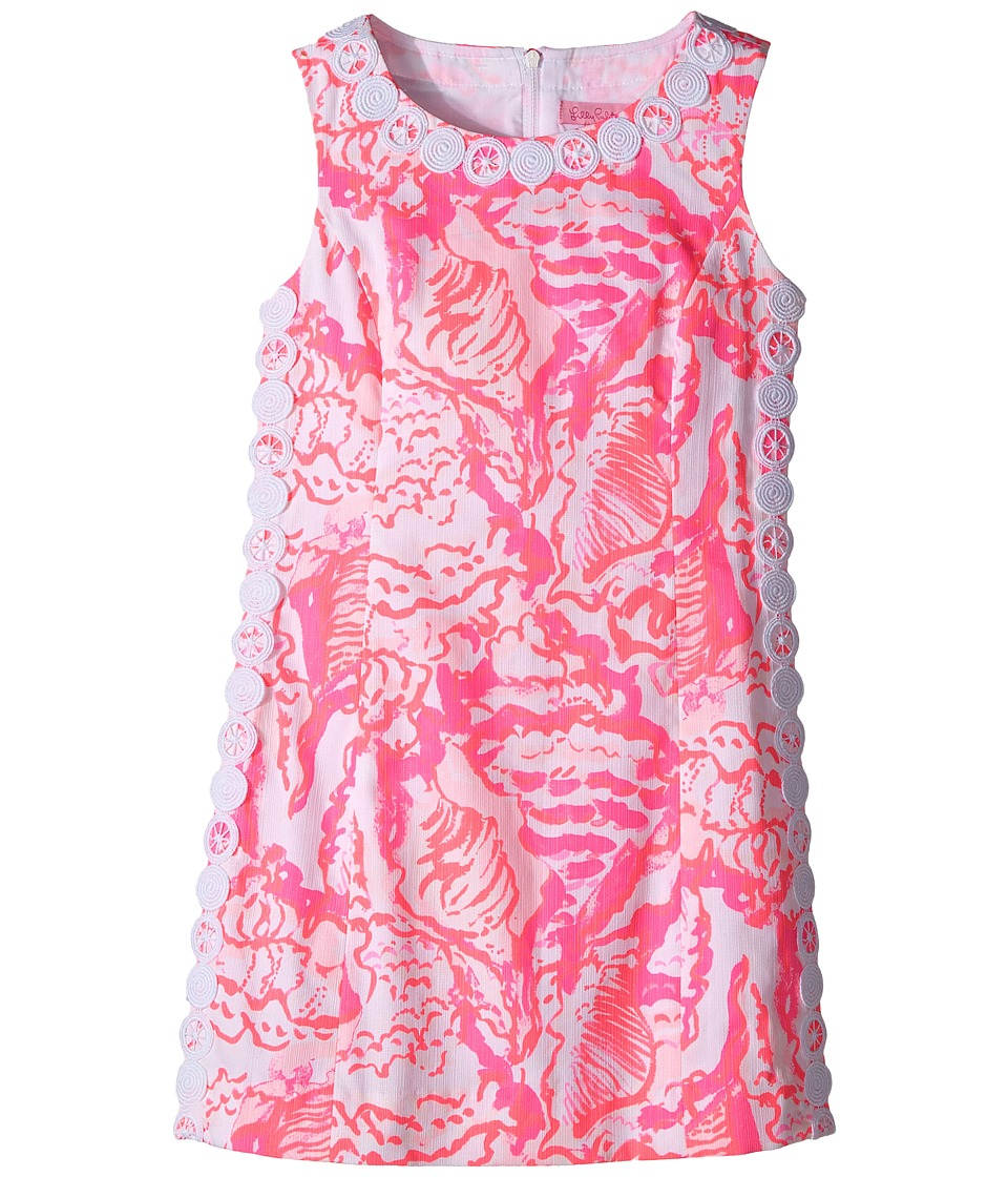 Lilly Pulitzer Kids Mini Mila Shift (Little Kids/Big Kids) (Coral Reef Beside the Point) Girl