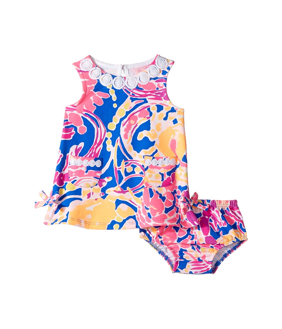 Lilly Pulitzer Kids Baby Lilly Shift (Infant) (Brilliant Blue Catch and Release Reduced) Girl