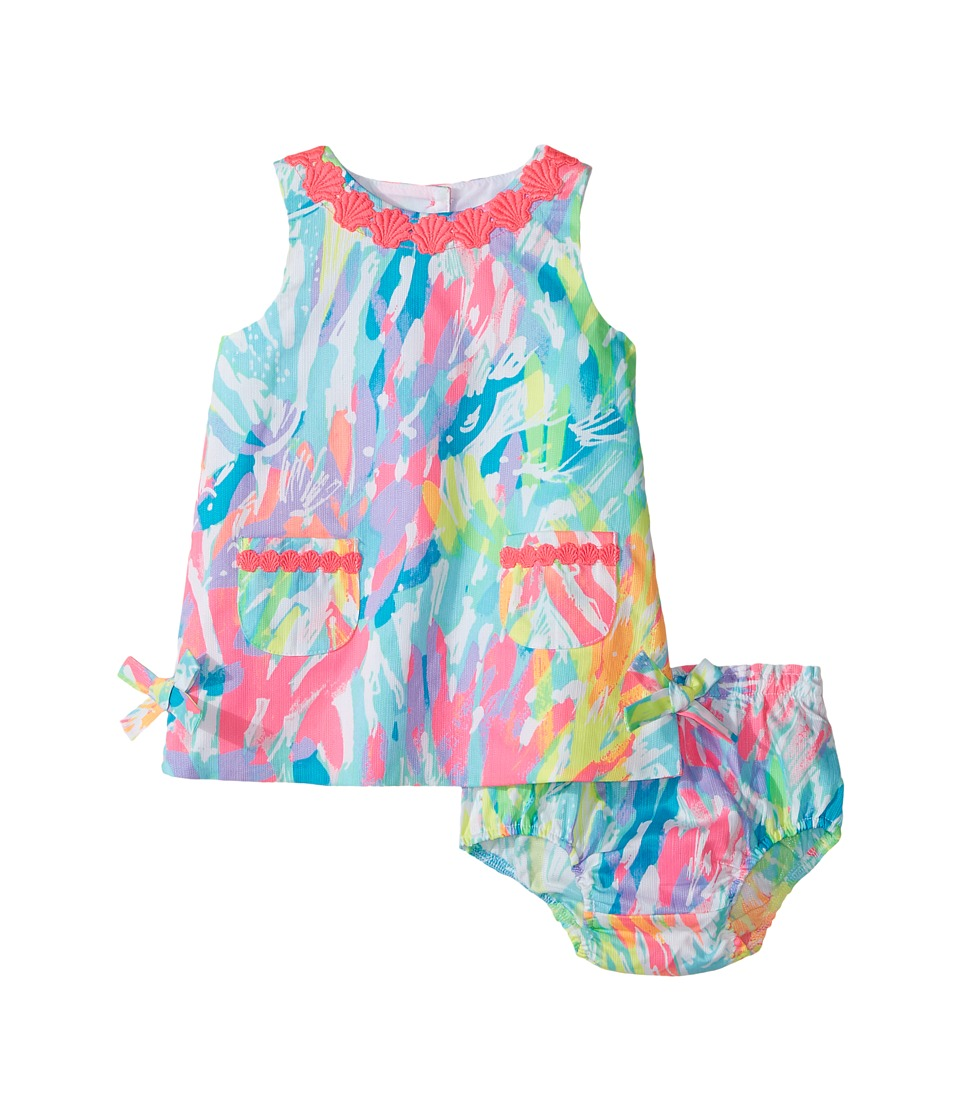 Lilly Pulitzer Kids Baby Lilly Shift (Infant) (Multi Sparkling Sands) Girl