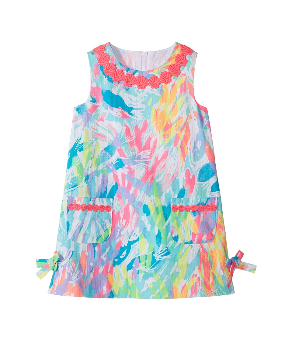 Lilly Pulitzer Kids Little Lilly Classic Shif (Toddler/Little Kids/Big Kids) (Multi Sparkling Sands) Girl