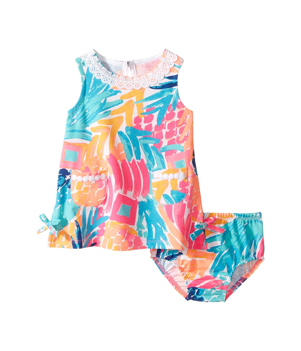 Lilly Pulitzer Kids Baby Lilly Shift (Infant) (Multi Goombay Smashed Reduced) Girl