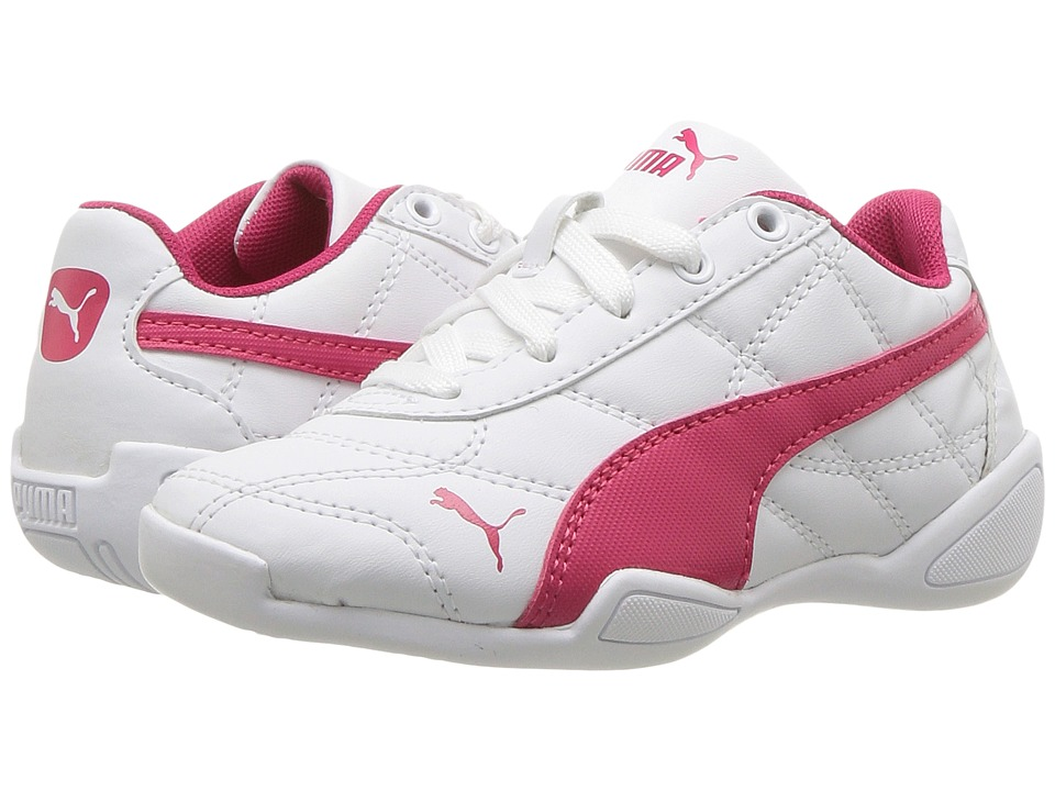 Puma Kids - Tune Cat 3 PS (Little Kid/Big Kid) (Puma White/Love Potion) Boys Shoes