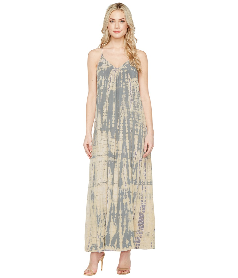 Michael Stars Naomi Wash Maxi Slip Dress (Oyster) Women
