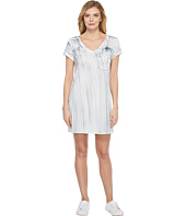 Michael Stars - Nautical Wash Short Sleeve V-Neck Dress