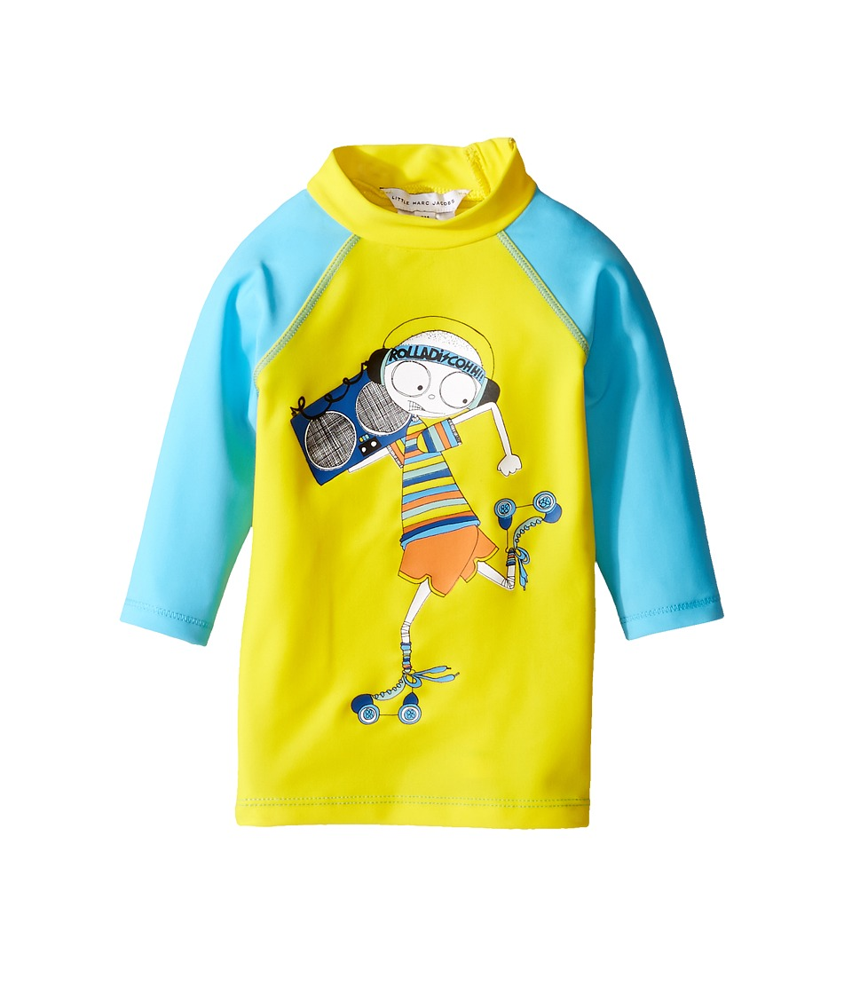 Little Marc Jacobs Little Marc Jacobs - Swimsuit Long Sleeve Tee Shirt