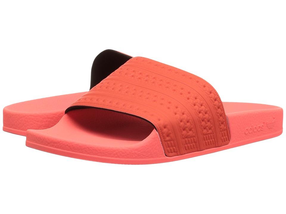 adidas Originals adilette (Easy Coral/Sun Glow) Men