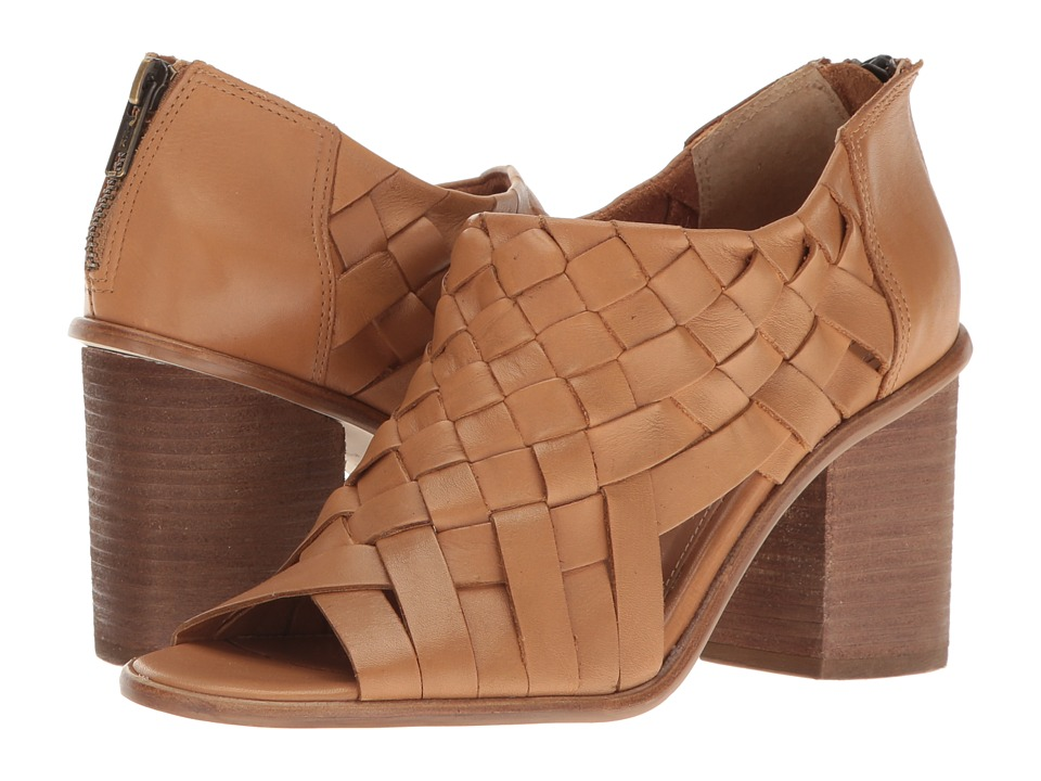 Corso Como Salem (Camel Brushed Leather) High Heels