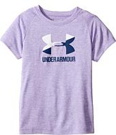 Under Armour Kids - UA Split Logo Short Sleeve (Little Kids)