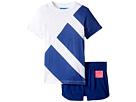adidas Originals Kids EQT Tee Short Set (Infant/Toddler)