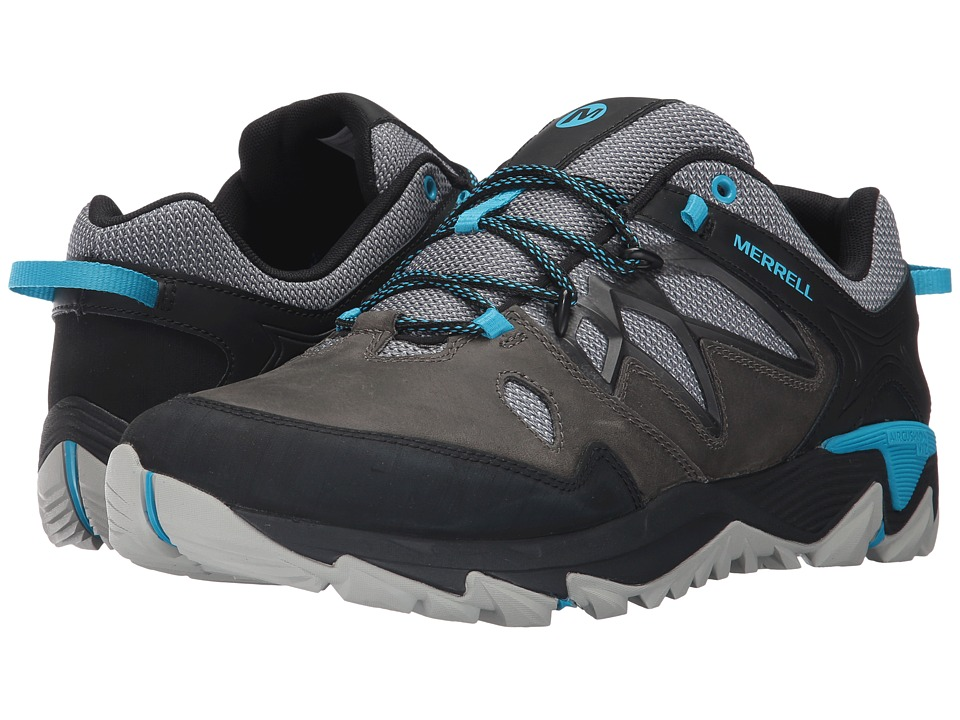 Merrell - All Out Blaze 2 (Turbulence/Cyan) Mens Shoes