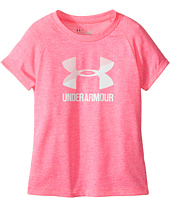 Under Armour Kids - UA Split Logo Short Sleeve (Little Kids)