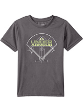 Under Armour Kids - Baseball Diamond Short Sleeve (Little Kids/Big Kids)