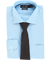 LAUREN Ralph Lauren - Non Iron Poplin Stretch Slim Fit Spread Collar Dress Shirt